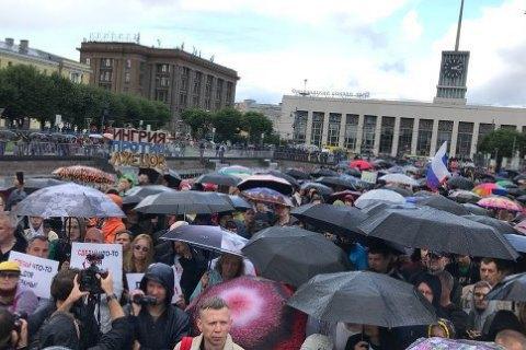 У Москві пройшла серія затримань, пов'язаних з мирною ходою 31 серпня