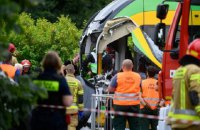 У Польщі десятки людей постраждали після зіткнення двох трамваїв