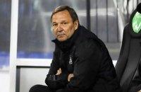 В Українській прем'єр-лізі чергове звільнення головного тренера