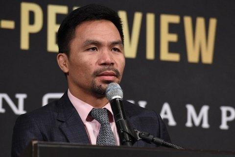 Ексчемпіона світу з боксу Пак'яо висунули кандидатом у президенти Філіппін