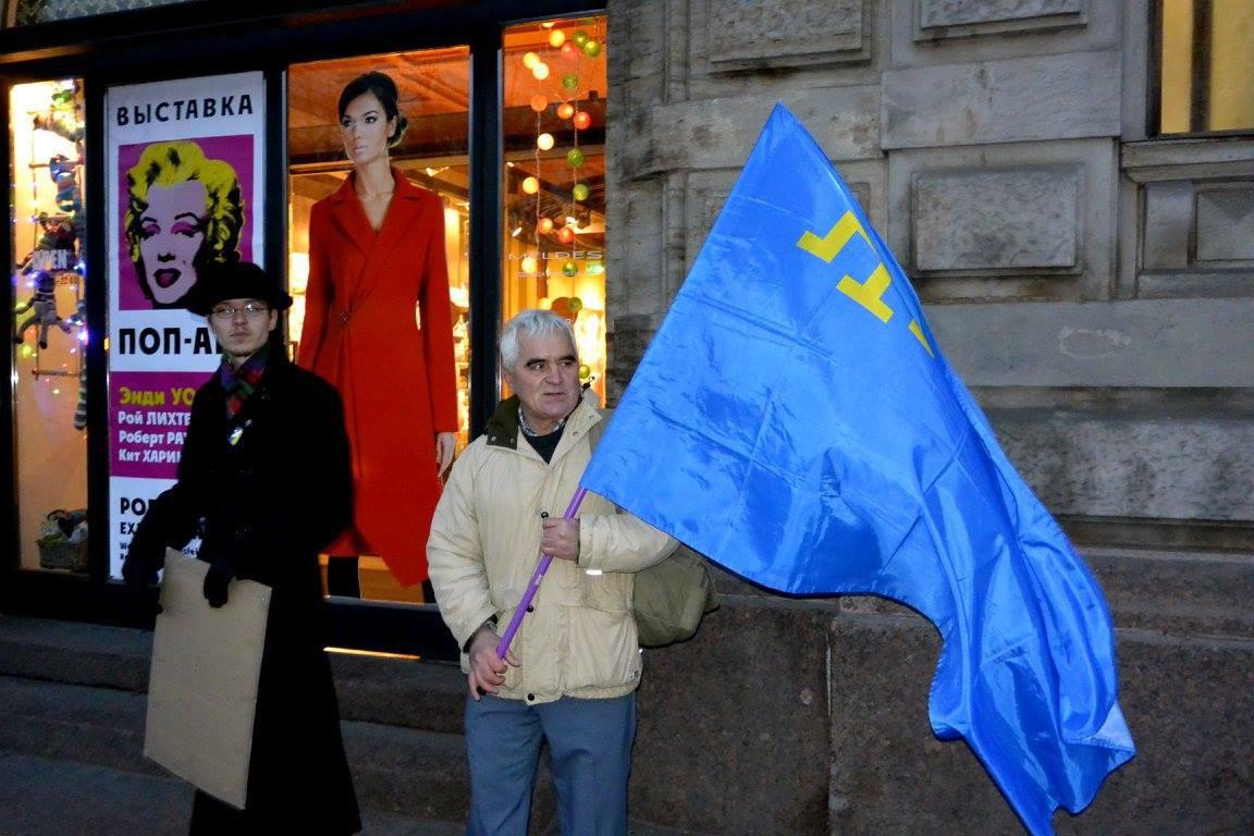 одиночные протесты в Санкт-Петербурге