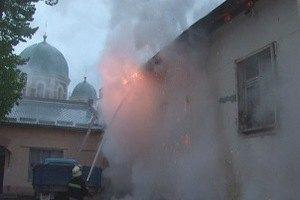 МВС: Російський культурний центр у Львові горів через коротке замикання