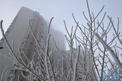 Завтра в Києві до -3 градусів