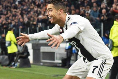 УЄФА офіційно відреагувала на непристойний жест Роналду під час матчу Ліги чемпіонів