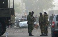В Дагестане неизвестные подорвали два полицейских автомобиля