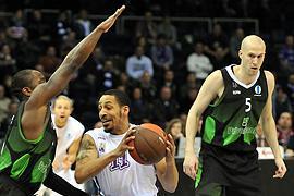 """Баскетбол. """"Будивельник"""" с первого места пробился в четвертьфинал Еврокубка"""