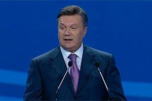 Янукович: опозиція робить ставку на дестабілізацію і хаос
