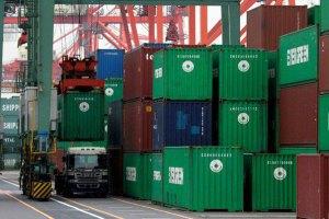 Торговий дефіцит України скоротився вп'ятеро