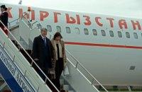Президента Кыргызстана выписали из больницы
