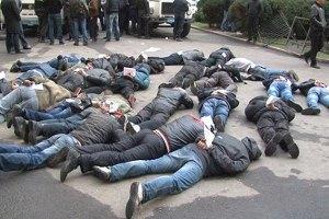 Суд відпустив під домашній арешт 16 загарбників Харківської ОДА