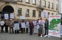 """Активісти зупинили спробу """"розпиляти"""" Біличанський ліс, - депутат облради"""
