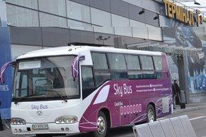 """Автобус в аэропорт """"Борисполь"""" подорожал на 60%"""