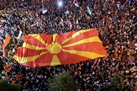 В Македонии возобновились протесты против новой правящей коалиции