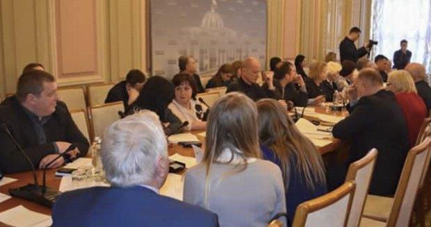 Круглый стол в Верховной Раде, 24 января, 2018.