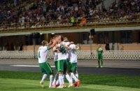 Полтавская «Ворскла» обыграла «Карабах» в Лиге Европы