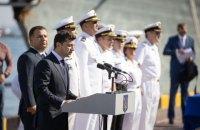Зеленский присвоил почетные имена военно-морскому лицею и бригаде из Крыма