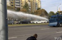 В Минске против демонстрантов применили водометы, в Витебске - газ (обновлено)