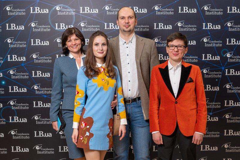Технический директор Lb.ua Евгений Нестеренко с супругой и дочерью