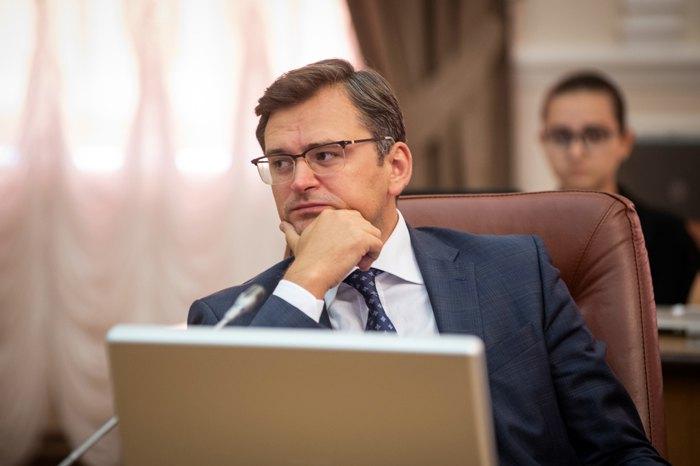Дмитро Кулеба на засіданні кабміну, 11 вересня 2019