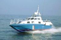 Под Очаковом перевернулось судно с пассажирами