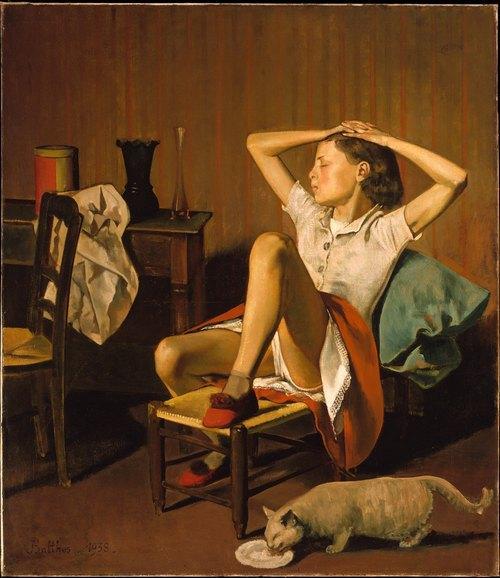 """Бальтюс, """"Спящая Тереза"""", 1938"""