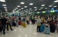 """З аеропорту """"Київ"""" вилетів перший з початку карантину чартерний рейс"""