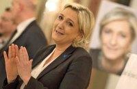 Ле Пен просить громадян Франції профінансувати її партію