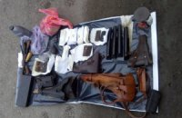 В Харькове задержали луганский автомобиль с оружием и боеприпасами