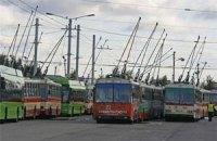 Кримські тролейбусники страйкують, щоб привернути увагу Медведєва