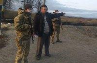 Пьяный украинец в шлепанцах пытался пешком попасть в Россию