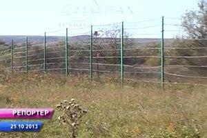 Россия начала ограждаться от Украины колючей проволокой