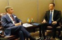 Украина и Венгрия договорились о встрече на высшем уровне
