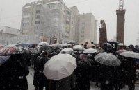 В Трускавце открыли памятник экс-главе УГКЦ Слепому