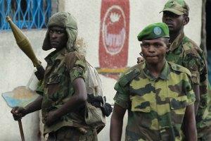 В Конго продолжается сражение между армией и повстанцами