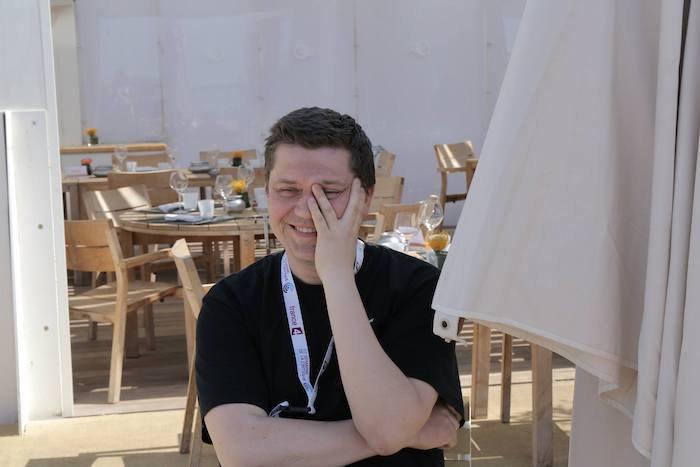 Валентин Васянович на Каннському кінофестивалі, 2014 рік