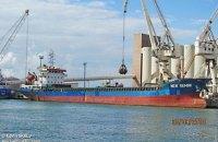 Принадлежащий компании из Одесской области сухогруз сломался, когда вез российскую пшеницу в Тунис