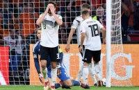 Сборные Голландии и Германии сыграли боевой матч в Лиге Наций