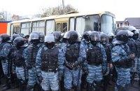 """В милиции говорят, что журналистов """"Беркут"""" не бил"""