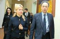 """Світлична зустрілася з послами ЄС та Італії і запросила їх на матч """"Шахтаря"""""""
