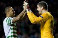 """Вратарь """"Селтика"""", не пропуская 12 игр, побил рекорд Шотландии"""