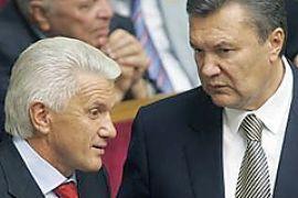 Литвин поссорился с Януковичем во время заседания согласительного совета