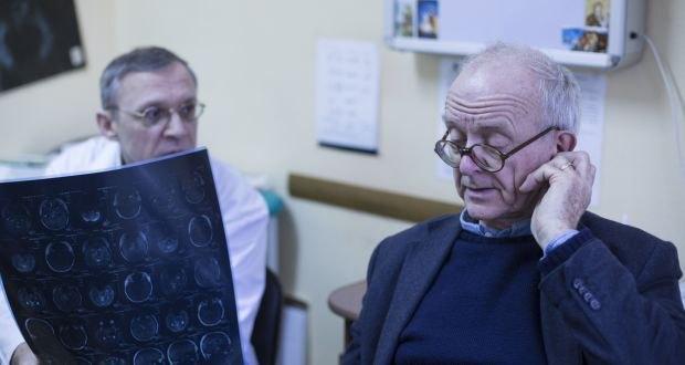 С украинским нейрохирургом Игорем Курильцом