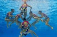 Украинки стали чемпионками Европы в синхронном плавании