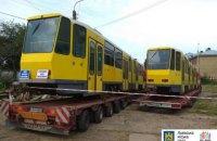 Львов получил первые б/у трамваи, купленные в Берлине