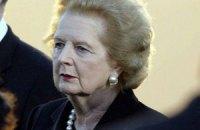 Папа Римский скорбит о смерти баронессы Тэтчер