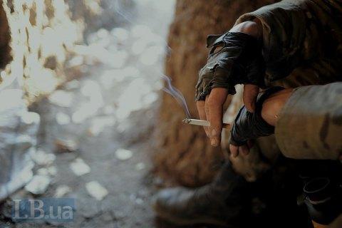 Боевики около часа обстреливали позиции сил АТО возле Песков