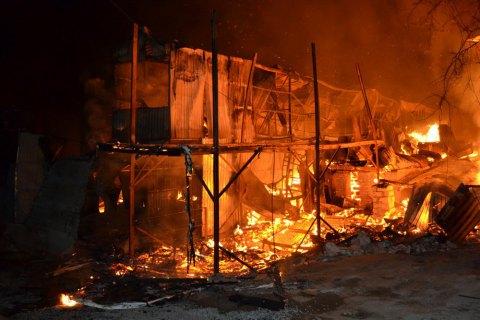 В Одессе второй раз за три дня горели дачные дома у моря