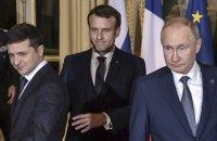 """Зеленский: """"Нормандия"""" - это начало свободы Донбасса """""""