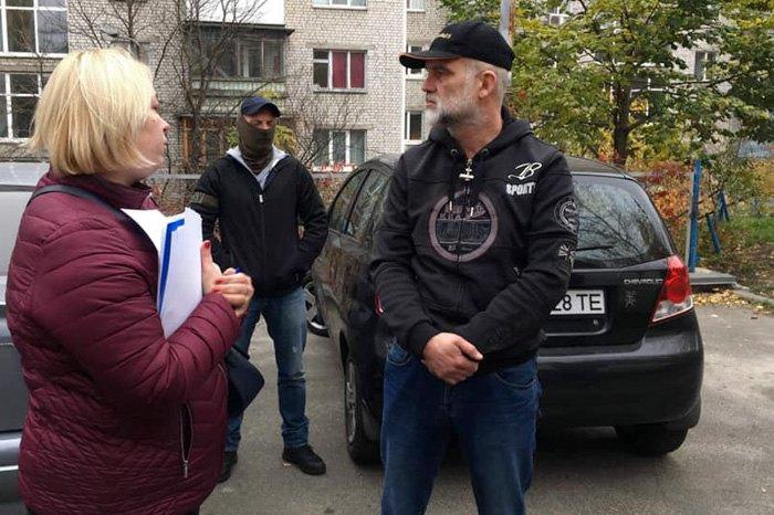 Затримання Валерія Чернобука