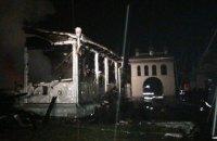 В Ивано-Франковской области сгорел деревянный храм УАПЦ